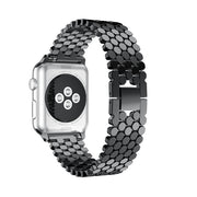 38 40 42 44mm Creative Metal Watch Bands For Apple Watch Series 4 3 2 1 Stainless Steel Replacement Strap Bracelet For IWatch
