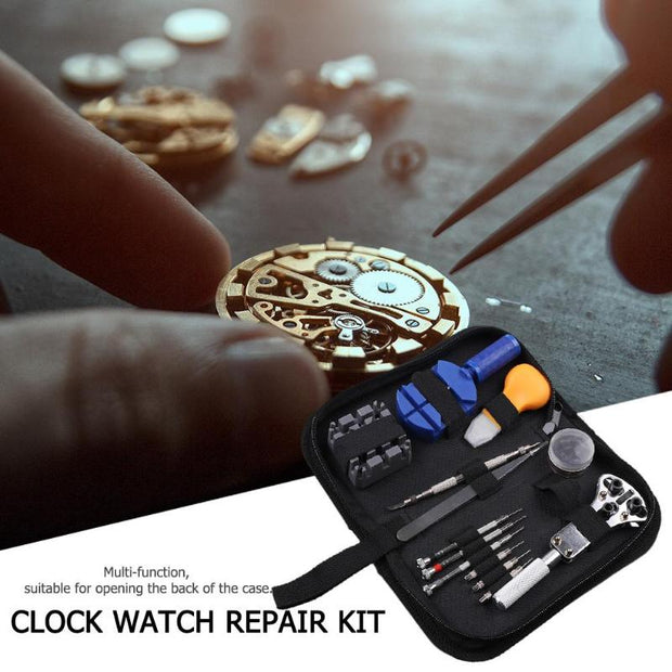390pcs Watch Opener Remover Spring Bar Repair Pry Screwdriver Repair Tool Clock Watch Tools Accessories