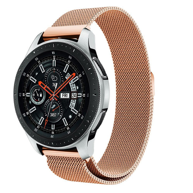 46mm Band For Samsung Galaxy Watch Strap Replacement Stainless Steel Milanese Watchbands Wristband For Samsung Galaxy Watch 22mm