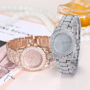 #5 2018 NEW FASHION Women Fashion Rhinestone Stainless Steel Band Analog Quartz Round Wrist Watch Watches FREESHIP