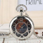 Alice In Wonderland Pocket Watch For Men Creative Coupons Quartz Pocket Watch Chain Retro Quartz Pocket Watch Analog Pendant