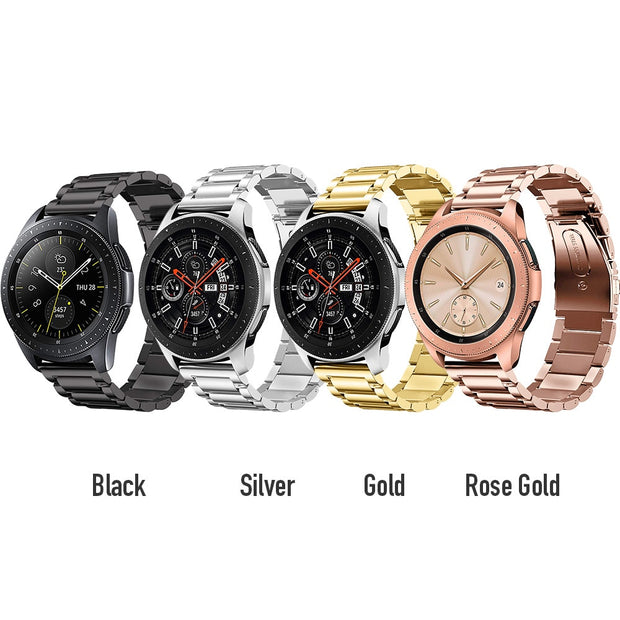 BUMVOR Stainless Steel Strap Samsung Gear S3 Watch Link With Bracelet Link Strap IWatch Smart Watch Belt