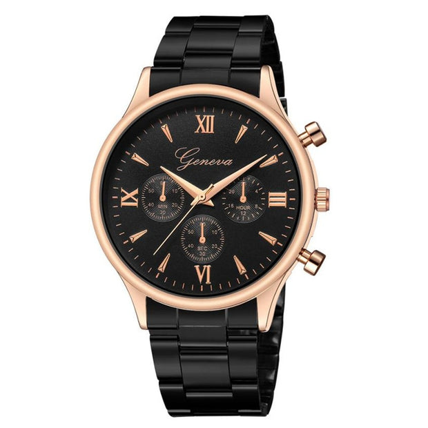 Bracelet Watches For Men Women Quartz Analog Wrist Watch Luxury Relogio Feminino Watch Fashion Stainless Steel Reloj Mujer