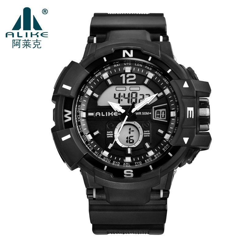 1ad003621e0 Brand ALIKE 2018 New Casual Watch Men G Style Waterproof Sports Milita