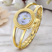 Brand Luxury Watches For Women Rhinestone Alloy Dial Quartz Analog Bracelet Wrist Watch Relogios Feminino Hombre Clock #420717