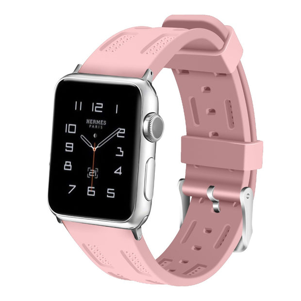 CRESTED Band For Apple Watch 3 Silicone Strap Iwatch Bands Series 3 2 1 42mm 38mm Sport Watchstrap Bracelet Wrist Belt Watchband