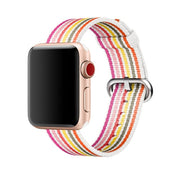 CRESTED Strap For Apple Watch Band 4 42mm/38mm Iwatch 3 Band 44mm 40mm Correa Woven Nylon Wrist Bracelet Belt Watch Accessories