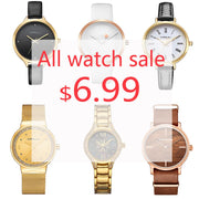 CRRJU EVERY DAYS BIG SALE, ALL WATCHES SALE 6.99$ Mens Watches Top Brand Luxury Watch For Women Quartz Clock