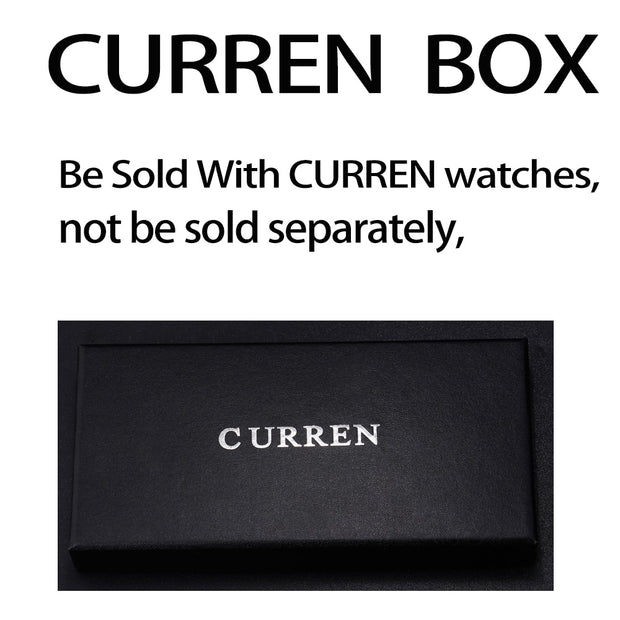 CURREN PAPER GIFT ORIGINAL WATCH BOX
