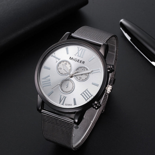 Classic Women's Men's Wrist Watch Steel Strap Quartz Casual Watches Relogio Feminino Woman Watch 2018 Watch Ladies