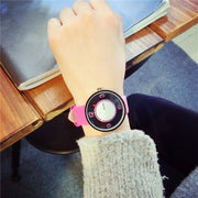 Creative Neutral Student Watches Simple Personality Fashion Trend Quartz Watch