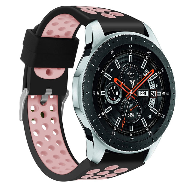 DIDI Sport Strap For Galaxy Watch 46mm Band Strap Silicone Wrist Bracelet Straps For Samsung Galaxy Band Frontier Strap