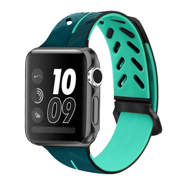 EIMO Sports Silicone Band Strap For Apple Watch 4 42mm 38mm IWatch Series 3/2/1 Wrist Bands Bracelet Watchband Accessories Belt