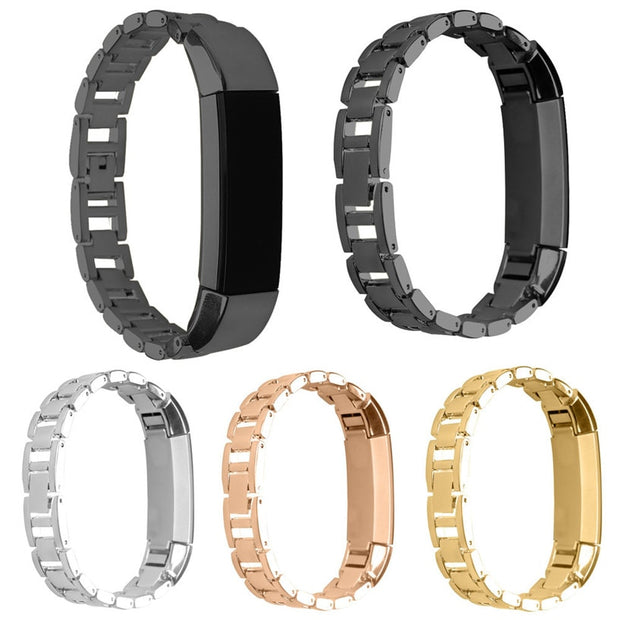 Fabulous Luxury Genuine Stainless Steel Watch Band Wrist Strap For Fitbit Alta Tracker Wholesale AUG26
