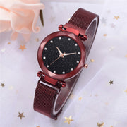 Fashion Casual Quartz Mesh Belt Watch Analog Wrist Watch Rose Gold Girls Gold Ladies Hot Sale Flowers Dress Luxury Simple 40