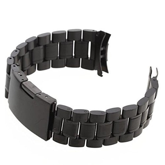 Fashion Fashion Steel Black Wrist Strap Replacement For Watch Watch Strap 22mm