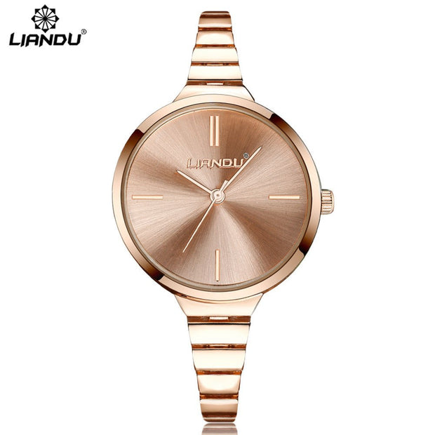 Fashion Ladies Watch Stainless Steel Analog Analog Watch Bracelet New Relojes Mujer Orologio Donna New Arrival