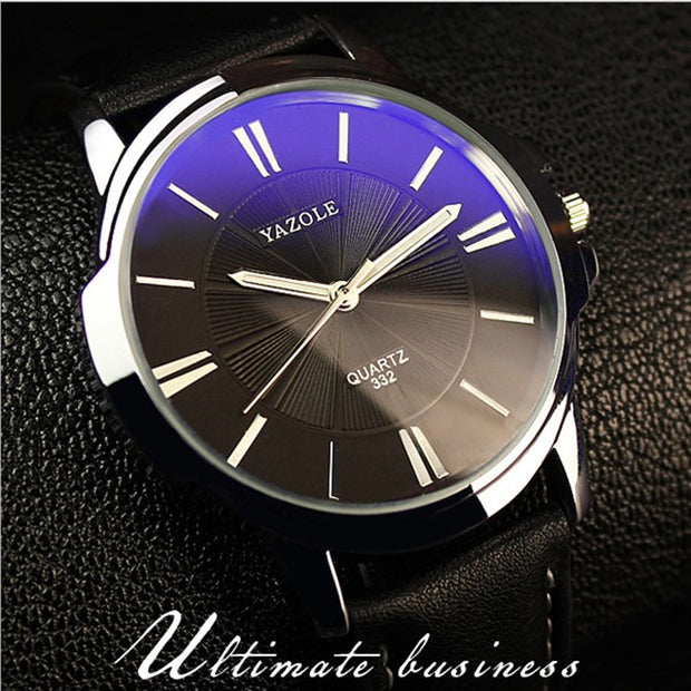 Fashion Leather Quartz Watch Men Luxury Brand Waterproof Business Sport Watches For Men Casual Analog Wristwatches Male Clock