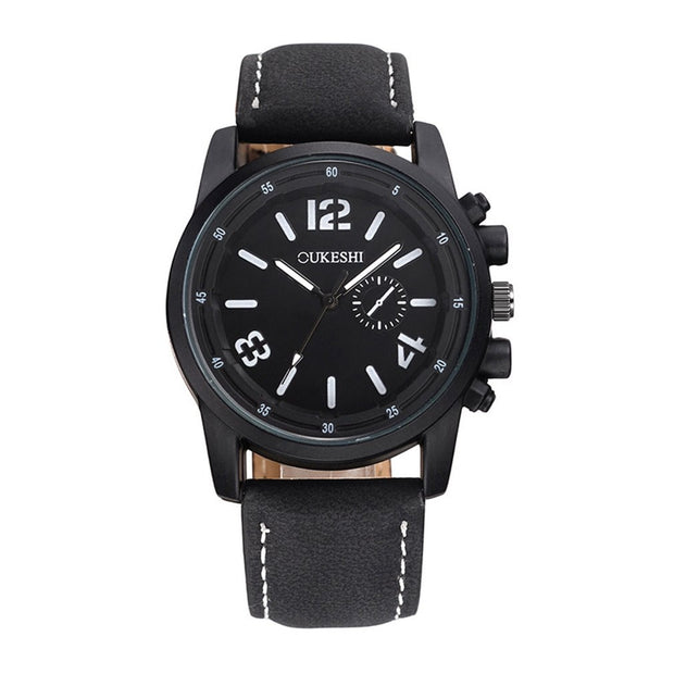 Fashion Quartz Watch Strap Round Dial Quiet Movement Luxury Casual Sports Watch Leisure Business Watches Men Sports GIFTS