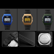 Fashion Top Brand Luxury Student Luminous Sports Casual Unisex Digital Date Alarm Couple Watch