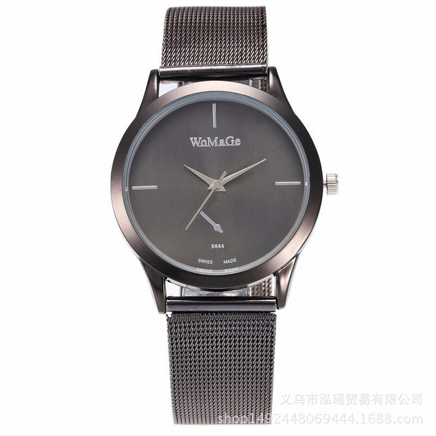 Fashion Womage Brand Women Watch Luxury Dress Mesh Steel Watches Casual Ladies Student Girl Gift Quartz Rose Gold Female Clock