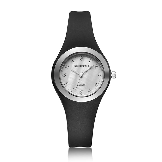 Fashion Women Montre Homme Dress Watches Lady Elegent Quartz Watch Soft Silicone Strap Clock Female Wristwatch Relogio Masculin