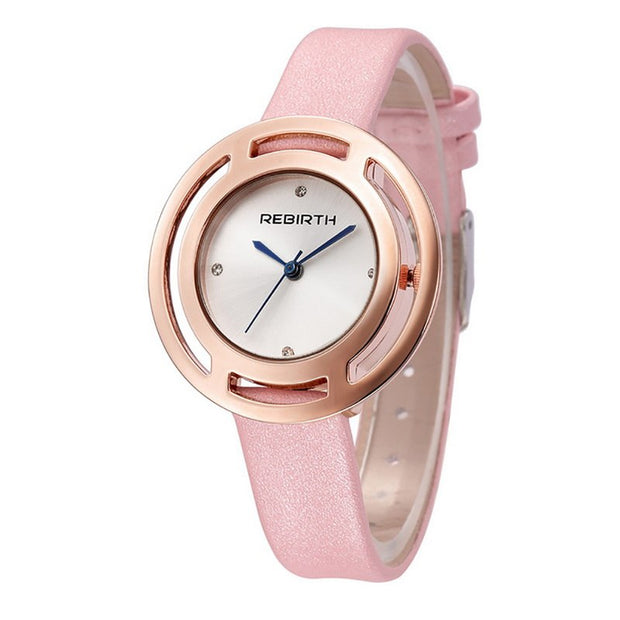 Fashion Women's Watch Quartz Strap Ladies Stainless Steel Pointer Round Watch Wrist 2019 Brand Clock Moment Fashion Unisex Gift