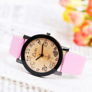 Fashion Hot Cartoon Boys And Girls Students Watch Quartz Couple Men And Women Watches Fashion & Casual Chronograph Alloy