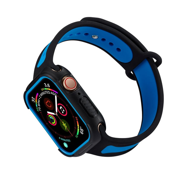 For Apple Watch Series 4 Sport Style Case PC Frame Casing Cover IWatch Cases 40mm 44mm For Watch Series 4 Protective Frame Shell