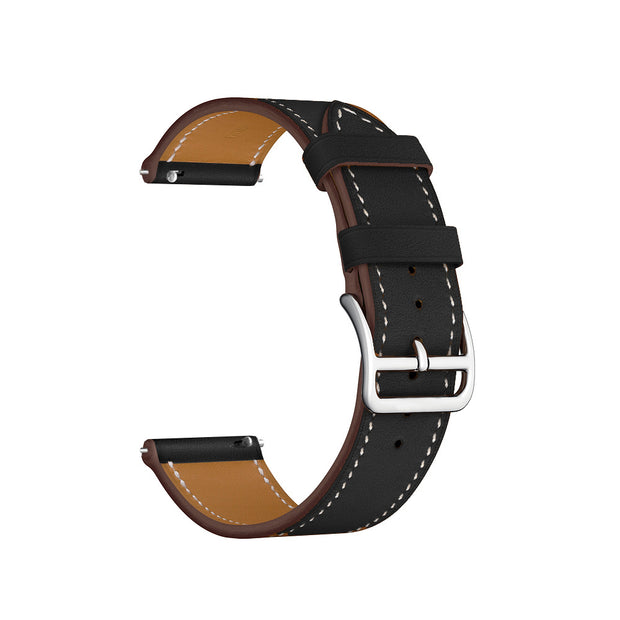 Genuine Leather Watch Band Strap For Huami Amazfit Strato Sports Watch 2 Smart Watch Fashion Replacement Wrist Band Strap 22mm