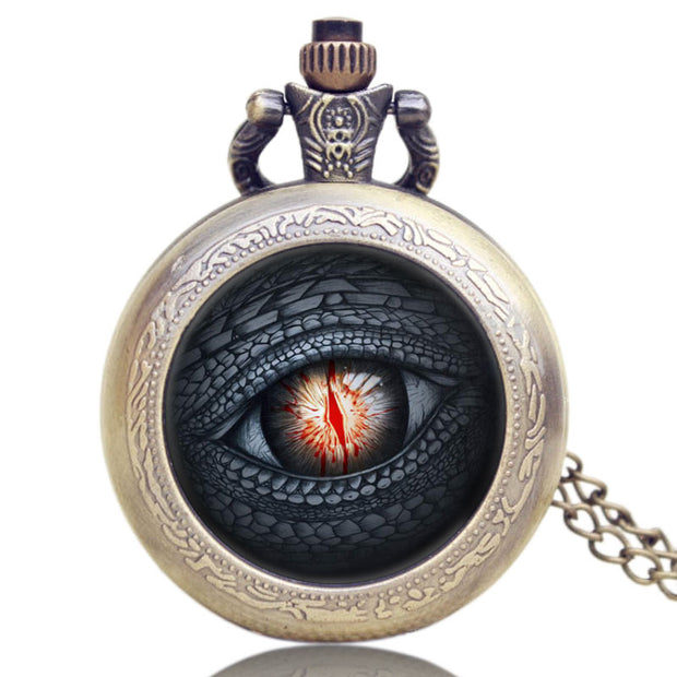 Hot Sale New Fashion Style Creative Men's Pocket Watch, Bronze Antique Theme Vintage Old Pocket Watch, Exquisite Gift For Men