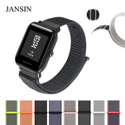 JANSIN Magnetic Nylon Sport Strap For Xiaomi Huami Strap Amazfit Bip BIT PACE Lite Youth Smart Watchband Wearable Wrist Bracelet