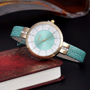 Mint green watch
