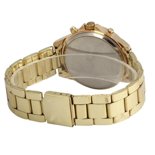 Ladies Women Girls Fashion Casual Watch Crystal Simple Stainless Steel Analog Quartz Wrist Watch Bracelet Female Gift 2019 4A