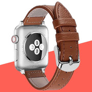 Leather Single Tour Strap For Apple Watch Band 4 44mm 40mm Bracelet Watchband Iwatch Series 4/3/2/1 38mm 42mm Replacement Belt