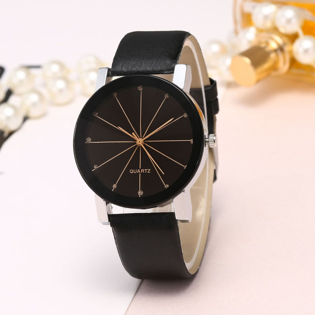 Light Version Belt Couple Table Scale Set Auger Students Quartz Watch Fashion And Personality Dropshipping Relojes Para Mujer