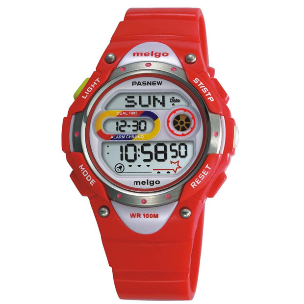 Luxury Brand Pasnew Watch New Waterproof Children Watch Boys Girls LED Digital Sports Watches Horloge Kinderen Montre Enfants