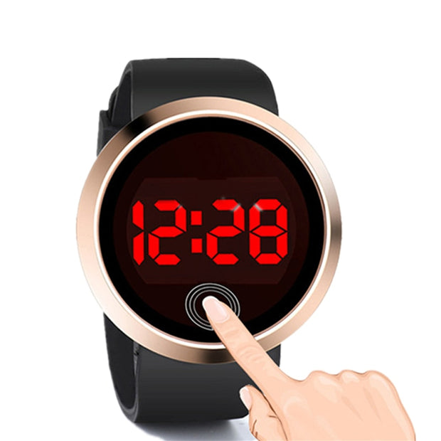 Luxury Digital Watch Electronic Touch Screen Watch Men Women Sport Men's Watch Women's Watches Clock Relogio Masculino Digital