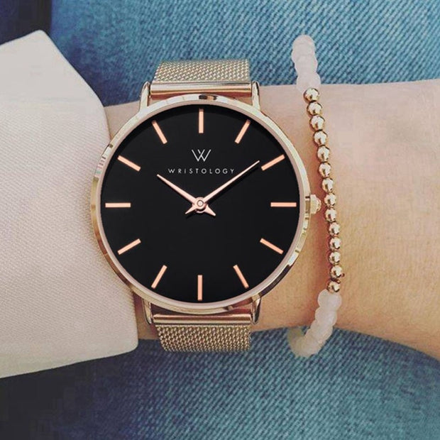Luxury Elegant Simple Dial Design Watches Popular Ladies Leather Wristwatch For Women Girls