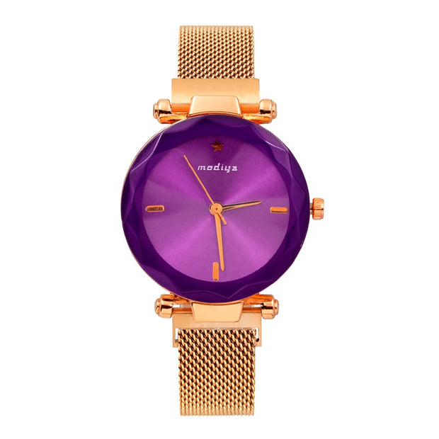 Luxury Women Bracelet Watch Elegant Female Stainless Steel Mesh Quartz Wrist Watch Exquisite Ladies Watch Montre Femme 2018