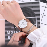 Luxury Women Fashion Leather Band Analog Quartz Round Wrist Watch Watches 2019 New Arrival Casual Women Wrist Watch Hot Sell