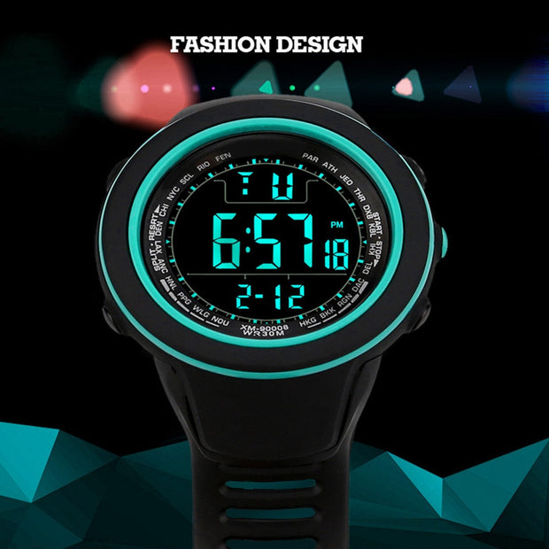 Men Watches Sport Watches Luxury Men Analog Digital Military Army Sport LED Waterproof Wrist Watch Relogio Masculino