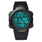 Men's Casual Sports Water Resistant LED Backlight Date Digital Wrist Watch Gift