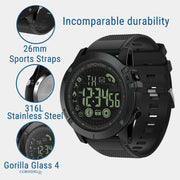 Mens Watches Top Brand Luxury Flagship Rugged Smartwatch 33-month Standby Time 24h All-Weather Monitoring Relogio Masculino Saat