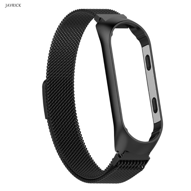 Mi Band 3 Watch Strap Wrist Strap Metal Stainless Steel For Xiaomi 3 Strap Bracelet Miband 3 Wristbands Pulseira