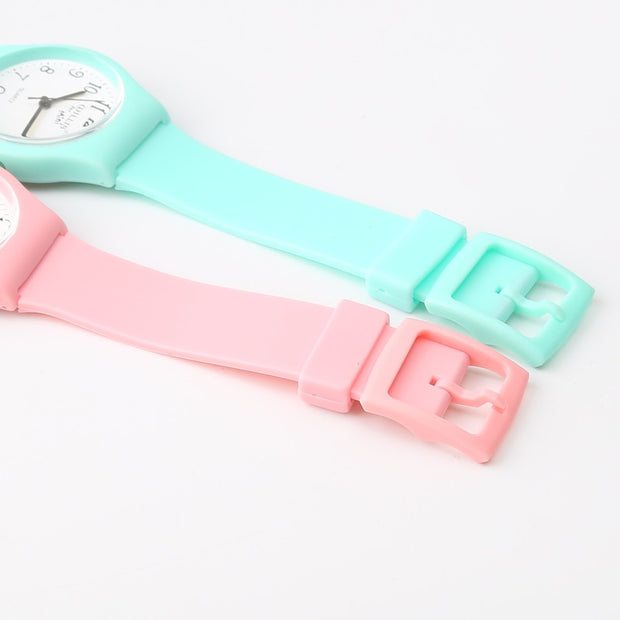 New Brand Fashion Transparent Quartz Watch Waterproof Silicone Ladies Women Watches Students Kids Children Watch For Girls Boys