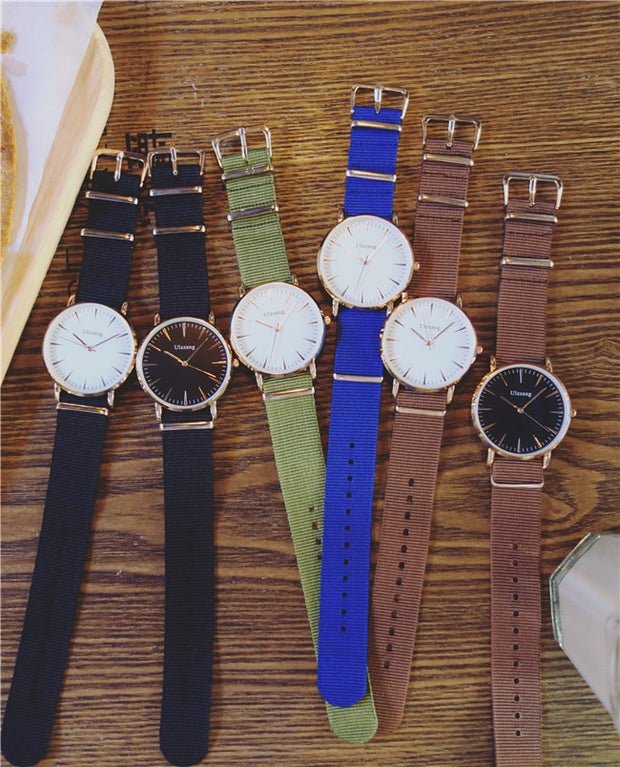 New European And American Simple Watch Students Trend Personality Dial Casual Atmosphere Quartz Watch