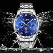 New Fashion Luxury Watches Quartz Watch Stainless Steel Dial Casual Bracele Watch Man Watch 2019 Zegarek Meski Orologio Uomo