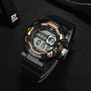 New Fashion Men Watch Unique Digital Outdoor Watch Male Wrist Electronic Sport Watches Clock Waterproof Business Wrist Clock