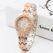 New Fashion Women Stainless Steel Silver Gold Watch Simple Crystal Dress Watches Casual Quartz Wristwatches Clock Bayan Saat